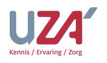 Logo Universitair Ziekenhuis Antwerpen